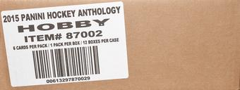 2015/16 Panini Anthology Hockey Hobby 12-Box Case