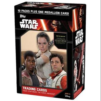 Star Wars: The Force Awakens Series 1 10-Pack Box (One Medallion Card Per Box!)