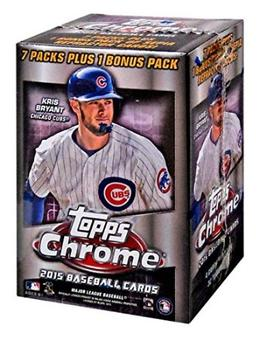 2015 Topps Chrome Baseball 8-Pack Box