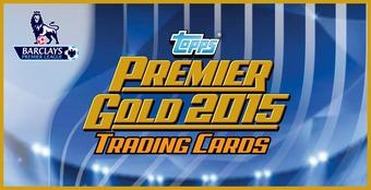 2015 Topps English Premier League Gold Soccer Hobby Box (Presell)
