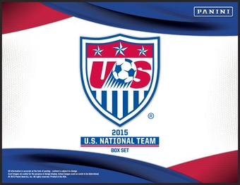 2015 Panini U.S. National Team Soccer Hobby Box (Set)