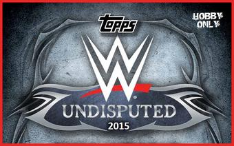 2015 Topps WWE Undisputed Wrestling Hobby 8-Box Case