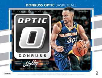 2016/17 Panini Donruss Optic Basketball Hobby Box (Presell)