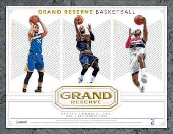 2016/17 Panini Grand Reserve Basketball Hobby Box (Presell)