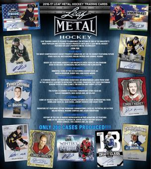 2016/17 Leaf Metal Hockey Hobby Box (Presell)