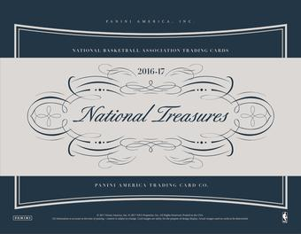 2016/17 Panini National Treasures Basketball Hobby Box (Presell)