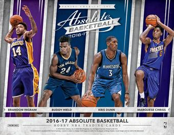 2016/17 Panini Absolute Basketball Hobby Box (Presell)