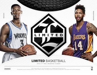 2016/17 Panini Limited Basketball Hobby Box (Presell)