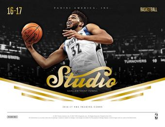 2016/17 Panini Studio Basketball Hobby Box (Presell)
