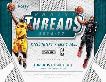 2016/17 Panini Threads Basketball Hobby Box (PLUS 2 Panini Day Packs!) (Presell)