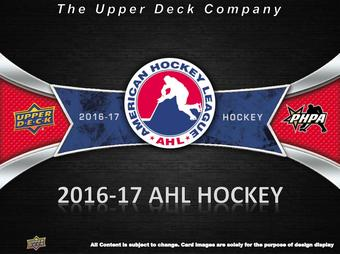 2016/17 Upper Deck AHL Hockey Hobby Box (Presell)