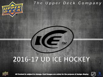 2016/17 Upper Deck Ice Hockey Hobby Box (Presell)