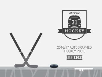 2016/17 Hit Parade Autographed Hockey Puck Edition Series 1 Box - McDavid / Laine / Crosby / Howe!