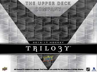 2016/17 Upper Deck Trilogy Hockey Hobby 10-Box Case - DACW Live 30 Spot Random Team Break #3