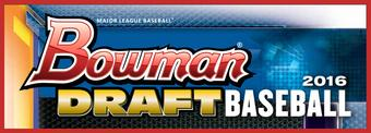2016 Bowman Draft Baseball SUPER Jumbo Box (Presell)