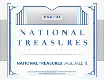 2016 Panini National Treasures Baseball 4-Box Case - DACW Live 30 Spot Random Team Break #5