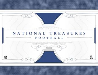 2016 Panini National Treasures Football 4-Box Case - DACW Live 32 Random Team Break #3