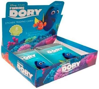 Finding Dory Trading Cards 12-Box Case (Upper Deck 2016)