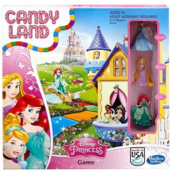 Candy Land Princess Edition (Hasbro)