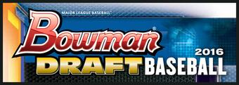 2016 Bowman Draft Baseball Hobby Jumbo 8-Box Case (Presell)