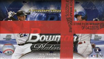2016 Bowman Platinum Baseball Hobby Box
