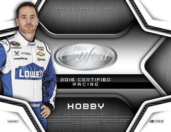 2016 Panini Certified Racing Hobby 12-Box Case (Presell)