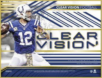 2016 Panini Clear Vision Football Hobby Box (Presell)