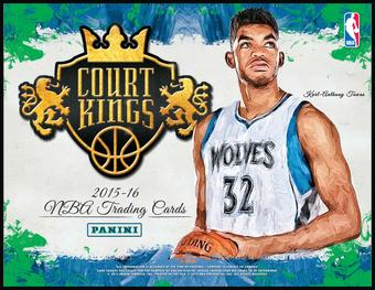2015/16 Panini Court Kings Basketball Hobby Box (Presell)