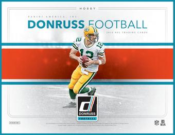 2016 Donruss Football Hobby Box (Presell)