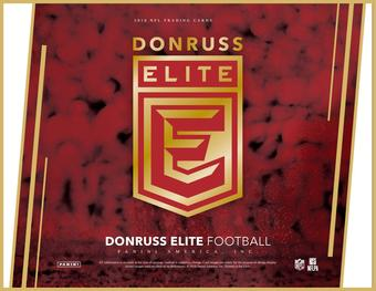 2016 Donruss Elite Football Hobby 12-Box Case (Presell)