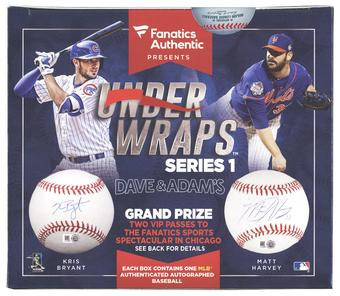 2016 Fanatics Authentic Under Wraps Baseball Hobby Box