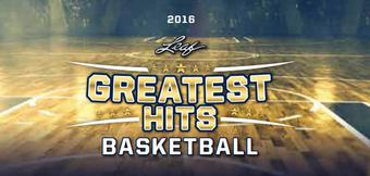 2015/16 Leaf Greatest Hits Basketball Hobby 2-Box Case (Presell)