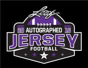 2016 Leaf Autographed Jersey Edition Football Hobby Box