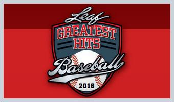 2016 Leaf Greatest Hits Baseball Hobby Box (Presell)
