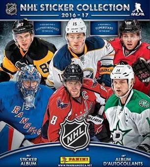 2016/17 Panini NHL Hockey Sticker Box (Presell)