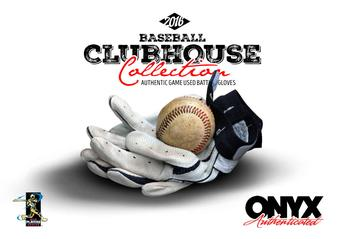 2016 Onyx Clubhouse Collection Baseball Hobby Box (Presell)