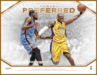 2015/16 Panini Preferred Basketball Hobby Box (Presell)
