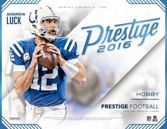 2016 Panini Prestige Football Hobby 12-Box Case (Presell)
