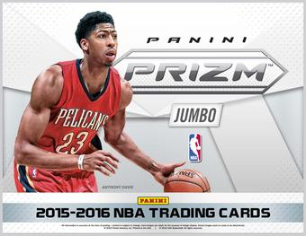 2015/16 Panini Prizm Basketball Jumbo 12-Box Case- DACW Live 30 Team Random Break #1