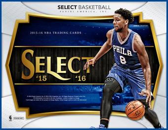 2015/16 Panini Select Basketball Hobby Box (Presell)
