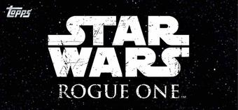 Star Wars Rogue One Series 1 Hobby 12-Box Case (Topps 2016) (Presell)