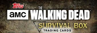 The Walking Dead Survival Mini-Box (Topps 2016)