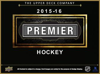 2015/16 Upper Deck Premier Hockey Hobby Box (Presell)