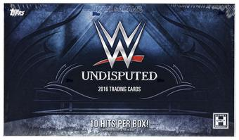 2016 Topps WWE Undisputed Wrestling Hobby 8-Box Case- DACW Live @ National  20 Spot Draft Break