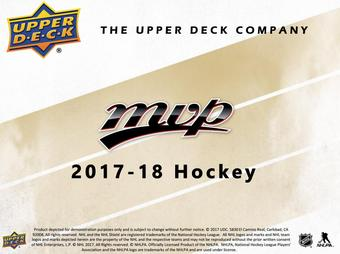 2017/18 Upper Deck MVP Hockey Hobby Box (Presell)