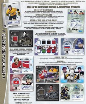 2016/17 In The Game Heroes & Prospects Hockey Hobby Box (Presell)