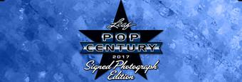 2017 Leaf Pop Century Signed Photograph Edition Hobby 12-Box Case (Presell)