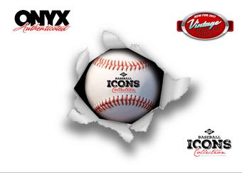 2017 Onyx Icons Baseball Hobby 12-Box Case (Presell)