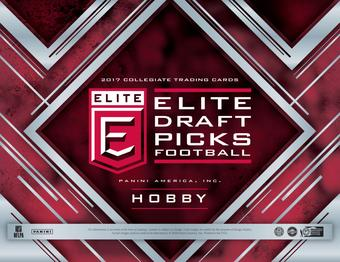 2017 Panini Elite Draft Picks Collegiate Football Hobby Box (Presell)