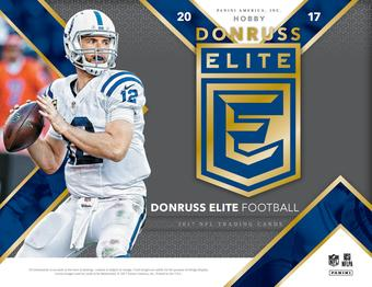 2017 Panini Donruss Elite Football Hobby 12-Box Case (Presell)